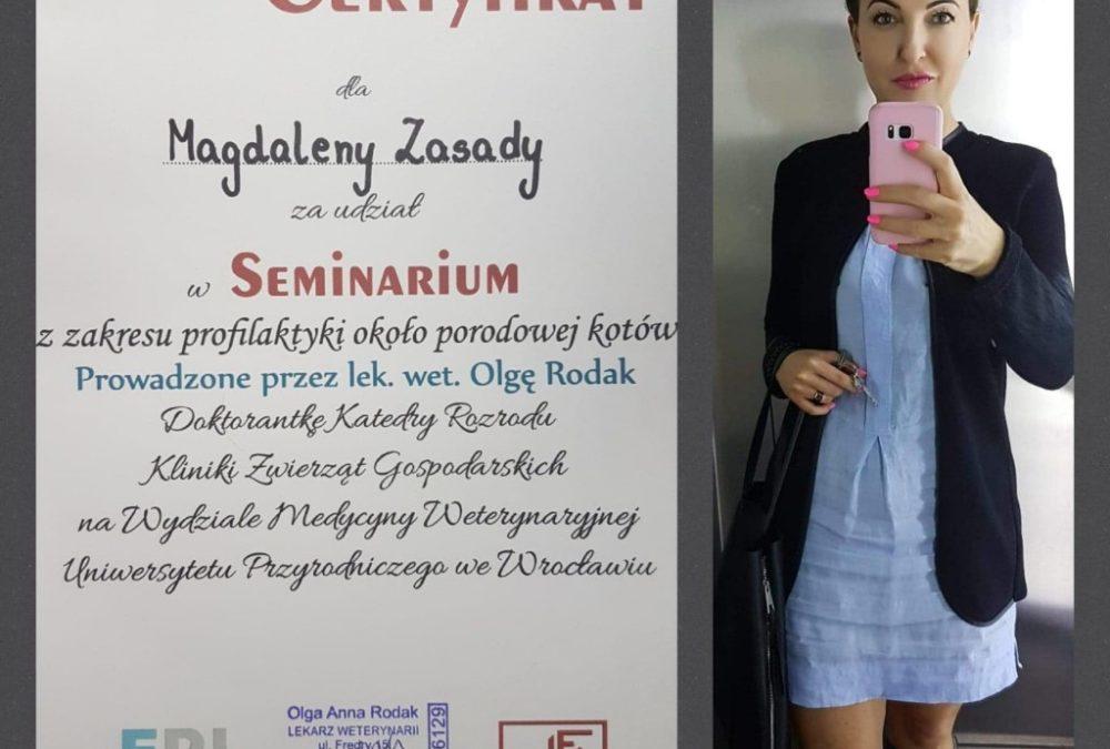 II SEMINARIUM DLA HODOWCÓW KOTÓW/ 14.04.2018
