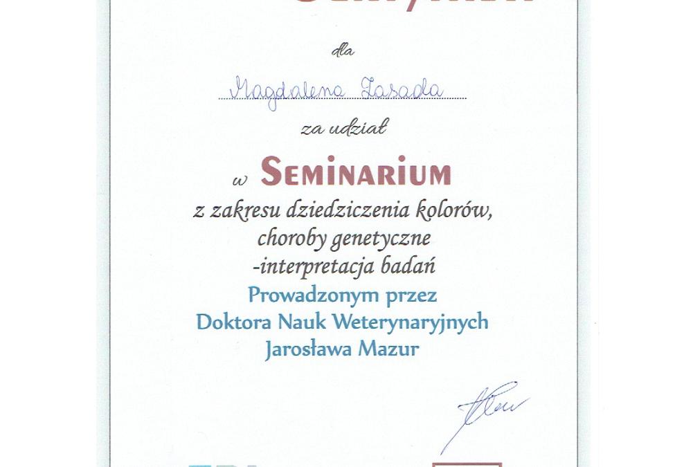IV Seminarium dla Hodowców Kotów / 21.09.2019